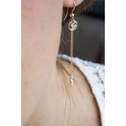 Les pendantes Bali, plaqué or
